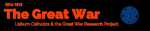 Lisburn Catholics & the Great War