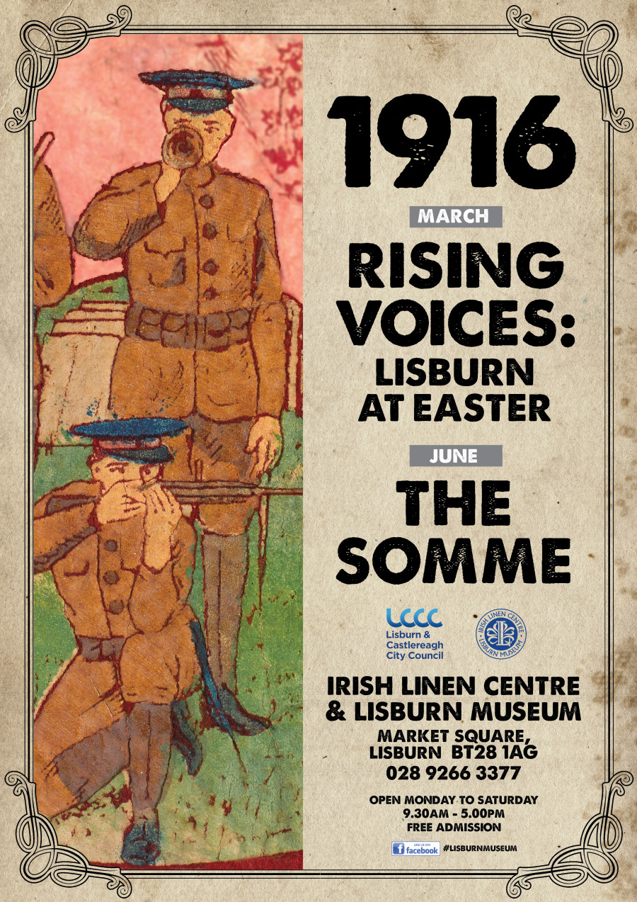Rising Voices Lisburn at Easter 1916 Exhibition